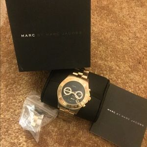 Marc by Marc Jacobs Watch Gold MBM3309